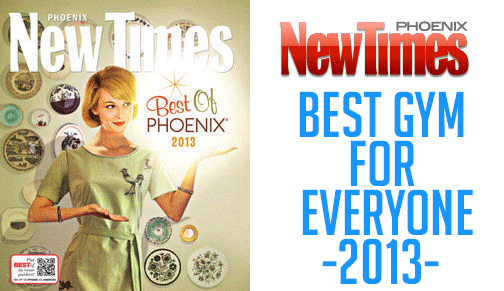 ABIL's SpoFit Voted Phoenix's Best Gym for Everyone by New Times Magazine for 2013