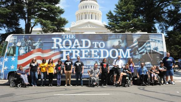 Dec. 2nd: ADA Freedom Bus Tour