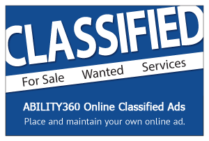 Classified. For sale, wanted, services. ABIL online classified ads. Place and maintain your own online ad.