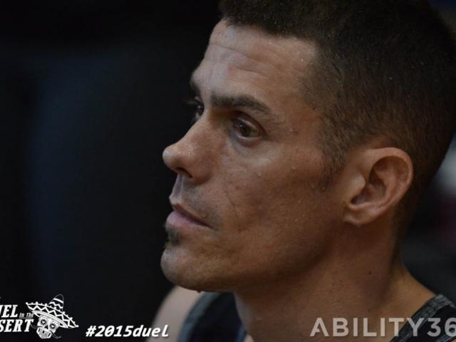 close-up profile male player