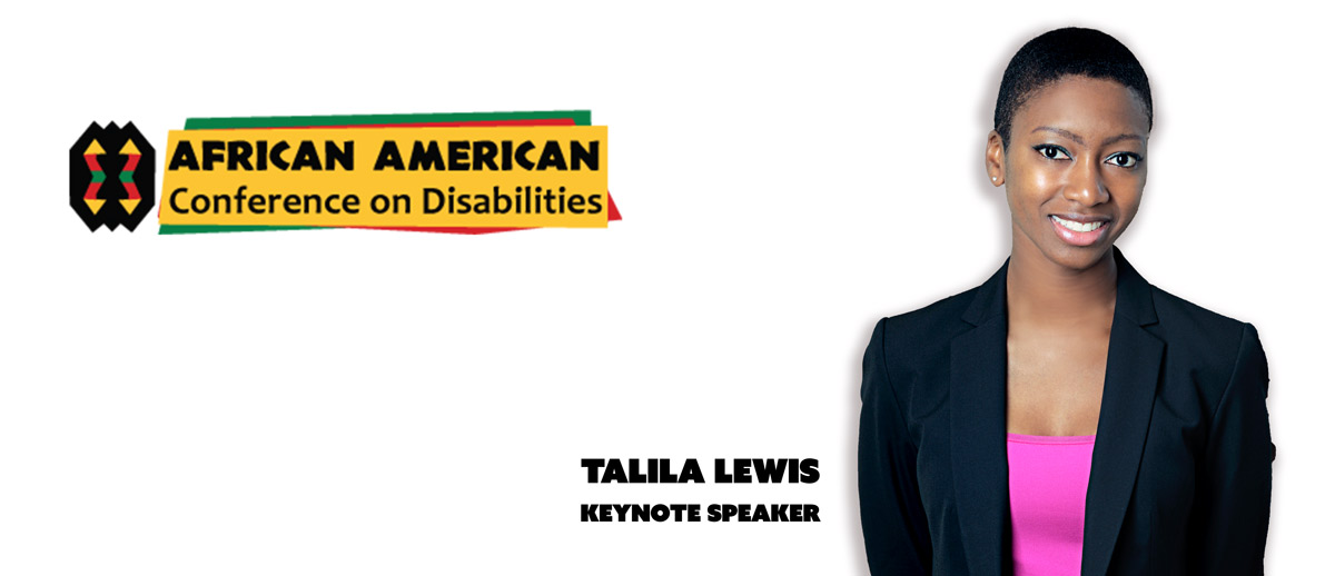 African American Conference on Disabilities. Talila Lewis, Keynote Speaker.