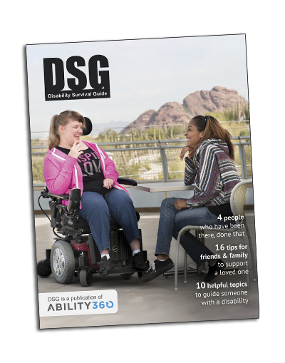 Disability Survival Guide Cover