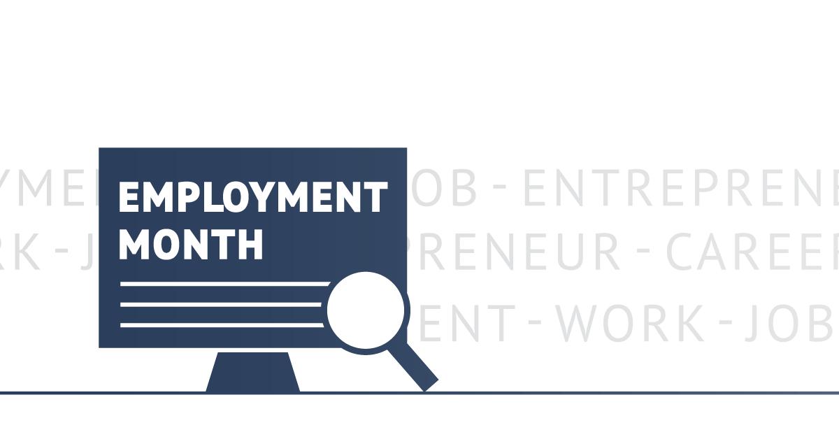 Employment Month. Entrepreneur, Career, Work, Job