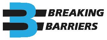 Blue Breaking Barriers Logo