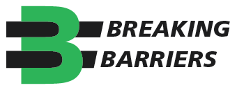 Green Breaking Barriers Logo