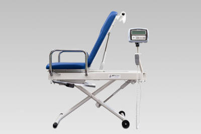 PHOTO: The UpScale Exam Table, designed for people with mobility disablities.