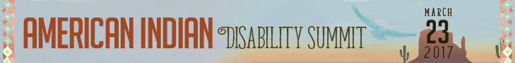 American Indian Disability Summit 2017.