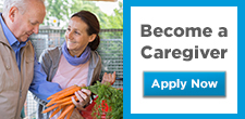 Become a caregiver, apply now
