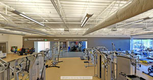 Sports Center Fitness Equipment