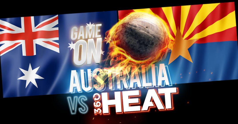 Australia vs Heat