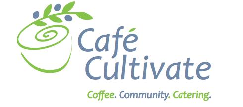 Café Cultivate. Coffee. Community. Catering.
