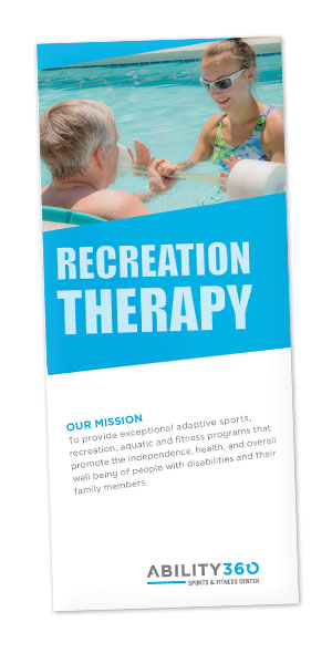 Recreation Therapy brochure