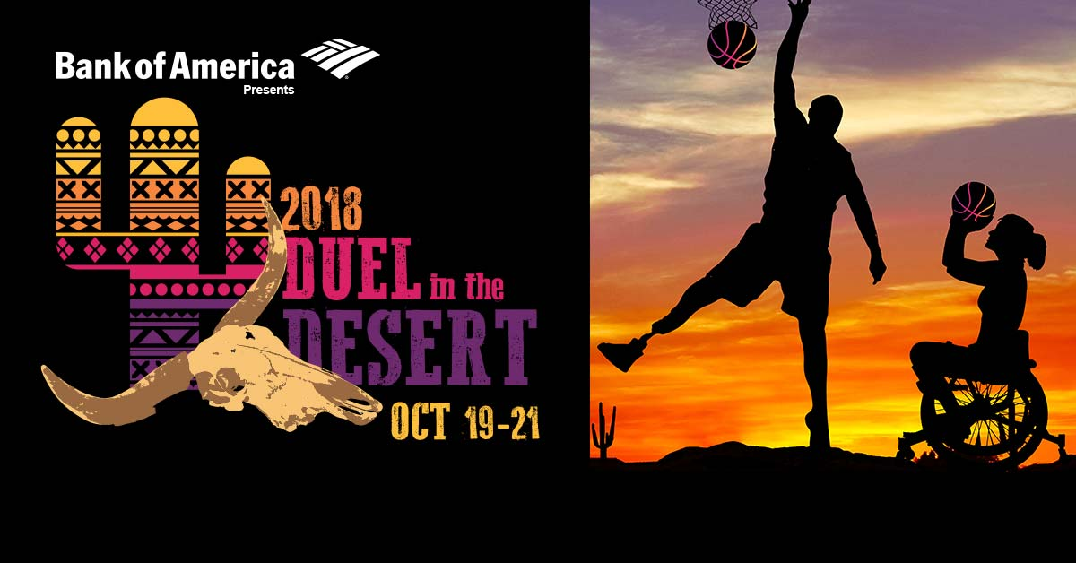 Bank of America presents the 2018 Duel in the Desert, October 19 through the 21.