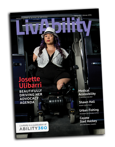 LivAbility Cover, issue 3.