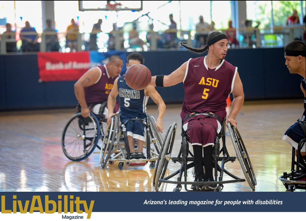 ASU Wheelchair Basketball Team