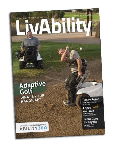 LivAbility Cover, issue 4.