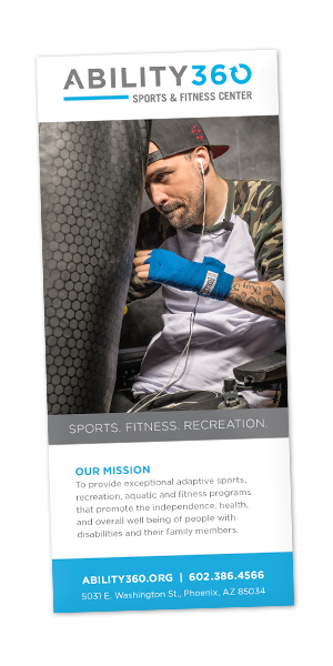 Sports and Fitness Brochure