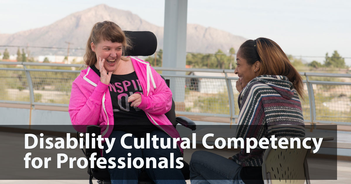 Disability Cultural Competency for Professionals