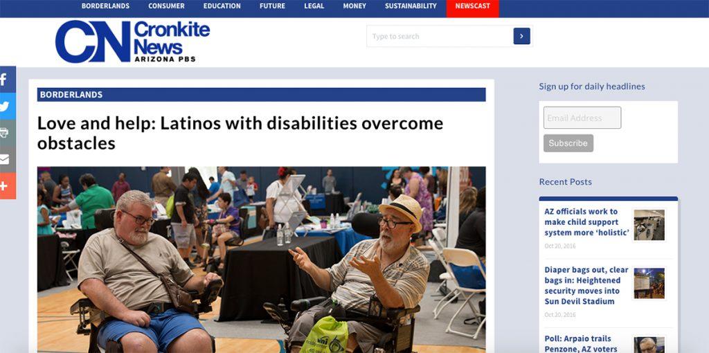 A screenshot of the original story on Cronkite News.