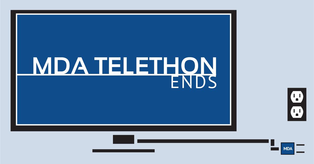 MDA Telethon Ends
