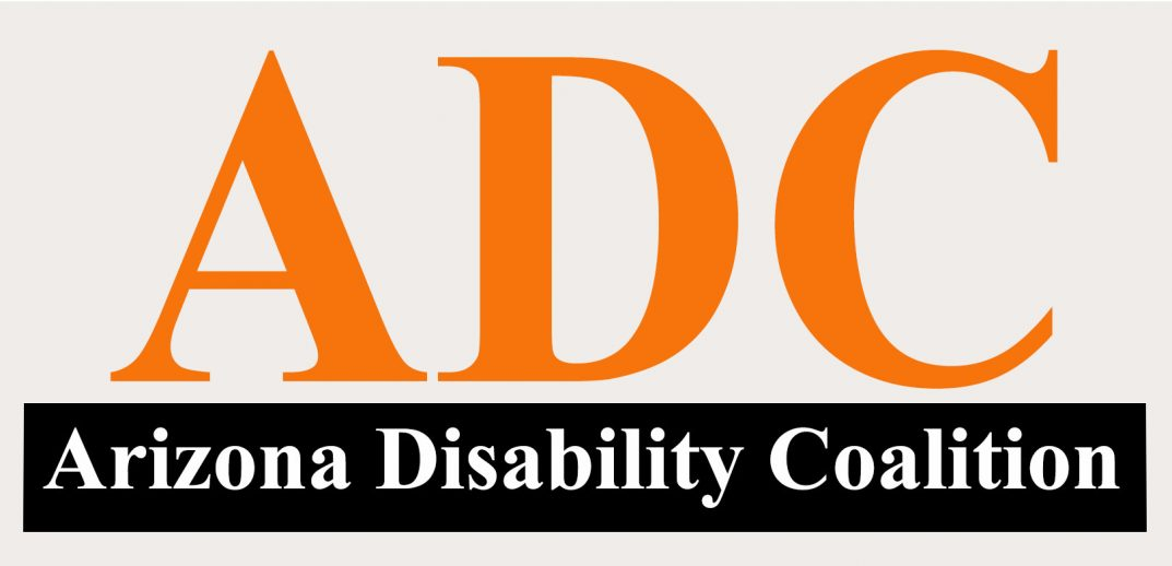 Arizona Disability Coalition logo.