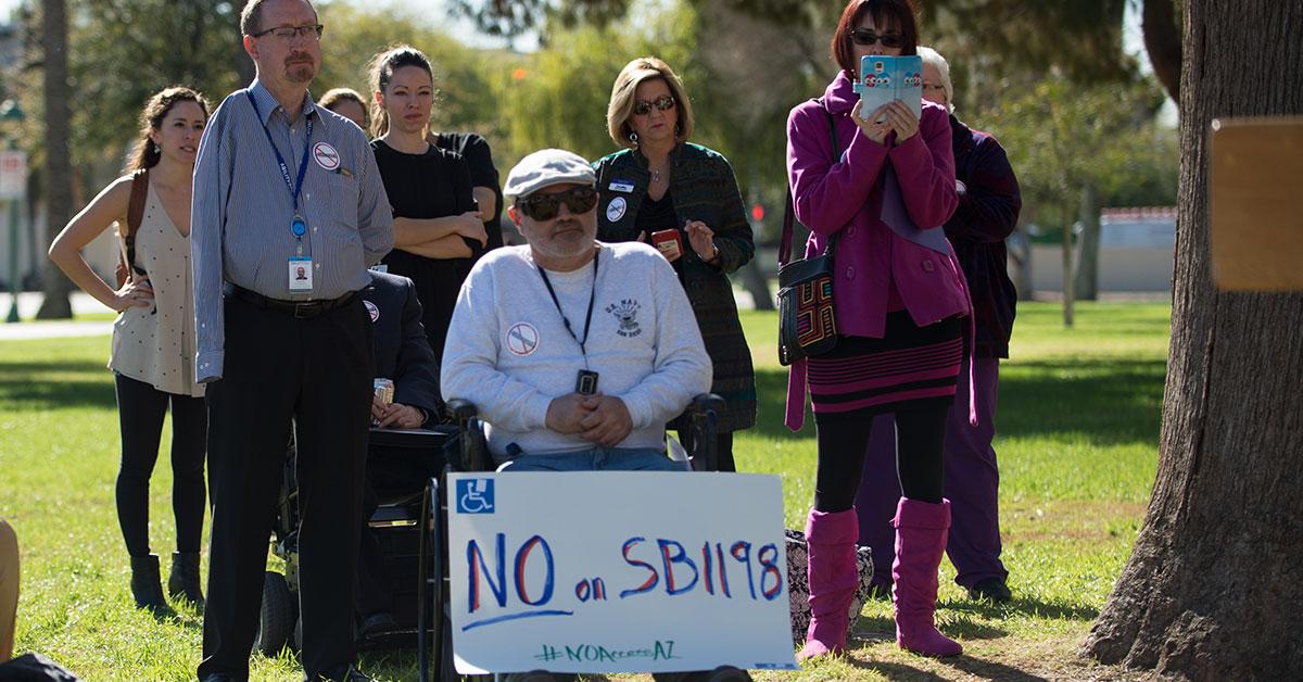 Arizona's Disabled Community Opposes SB1198