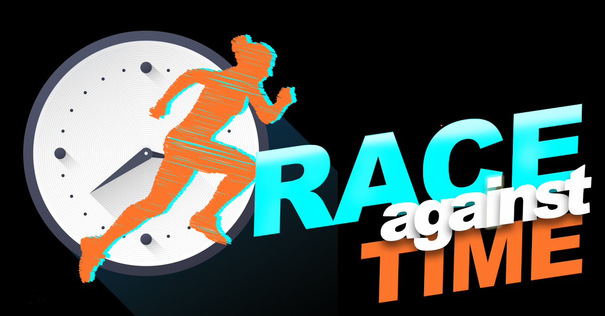 August 18th 'Race Against Time'