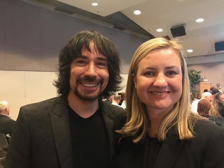 Josh Kessleman and Kate Gallego