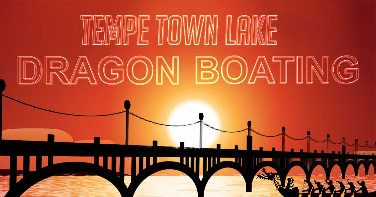 Tempe Town Lake Dragon Boating.