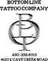 Botton Line Tattoo