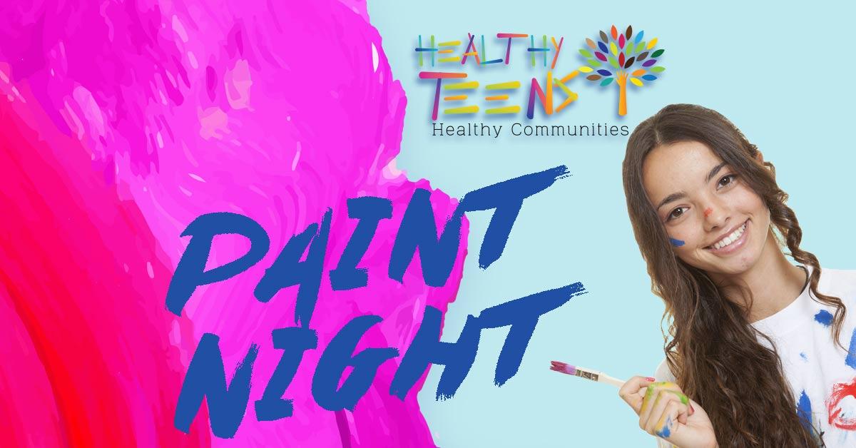 Teen's Paint Night