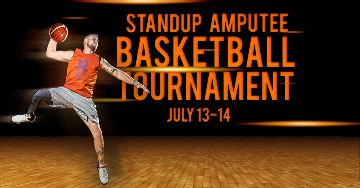 Standup amputee basketball tournament, July 13 to 14