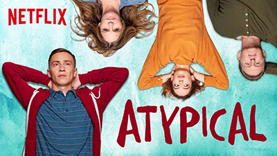 "Netflix cover image for the show ""Atypical"""