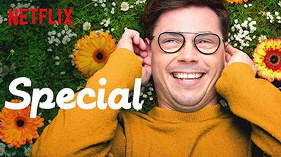 "Netflix cover image for the show ""Special."""