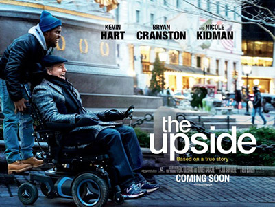"Cover image for the movie ""The Upside"""