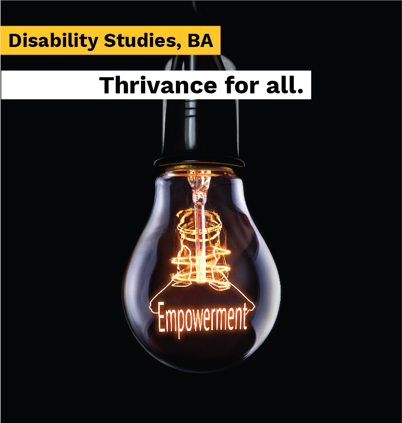 Illustration by Theresa Devine advertises ASU's Disability Studies Program