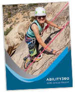 Thumbnail of the Ability360 2018 Annual Report