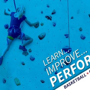 Learn, Improve, Perform! Basketball, Climbing and curling. Program sponsored by Disabled sports usa, empower youth sports