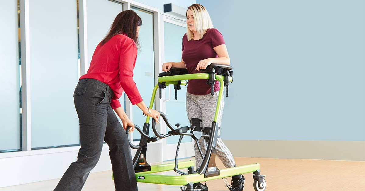 The Spartan: A New Assisted Gait Training Machine