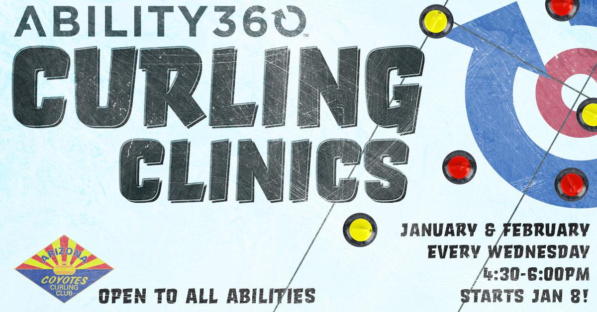 2020 Curling clinics ad
