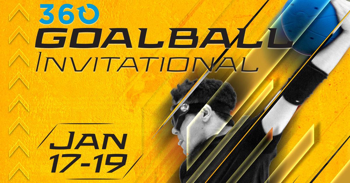 2020 Goalball Invitational ad