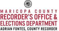 Maricopa County Recorder's Office and Elections Department, Adrian Fontes, County Recorder