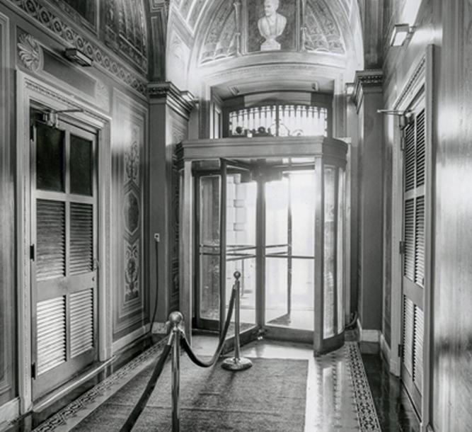 Doors Then