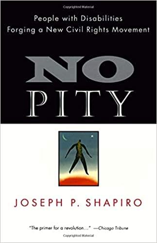 No Pity book cover by Joseph Shapiro