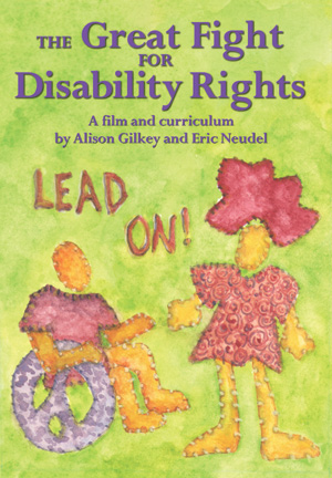 The great fight on disability rights book cover
