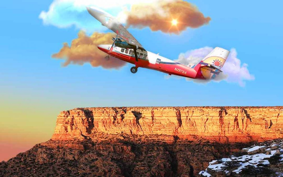Soar over the Grand Canyon on a wheelchair accessible flightseeing tour