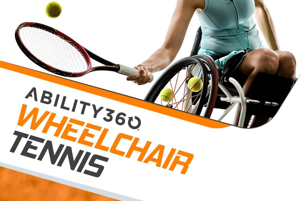 Wheelchair Tennis at Ability360 header graphic