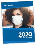 Ability360 2020 Annual Report cover